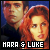Luke Skywalker and Mara Jade Skywalker
