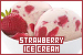 Ice Cream: Strawberry